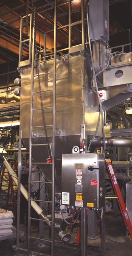 High Capacity Dust Collectors Powder Bulk Solids