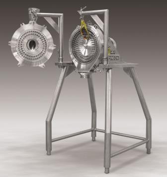 Pharma Grade Pin Mill Reduces Friable Solids Powder Bulk
