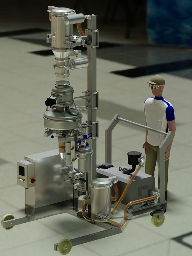 Vacuum Conveying Of Dense Metal Powders Powder Bulk Solids