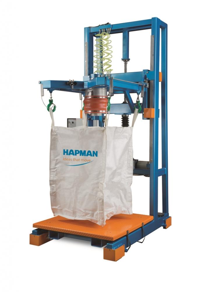 Bulk Bag Filler With Quick Release Safety Hooks Powder