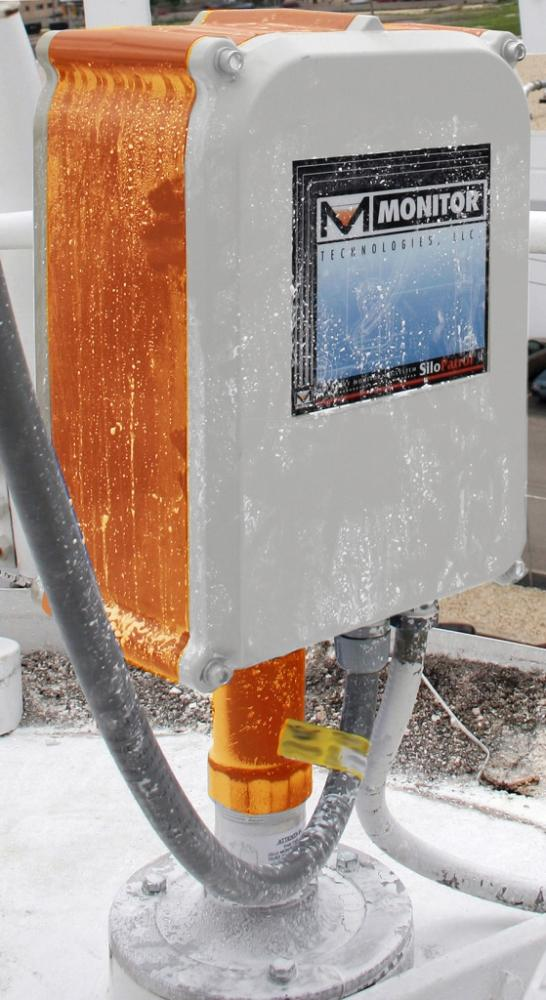 Silopatrol Interface O on Solid Material Level Sensor