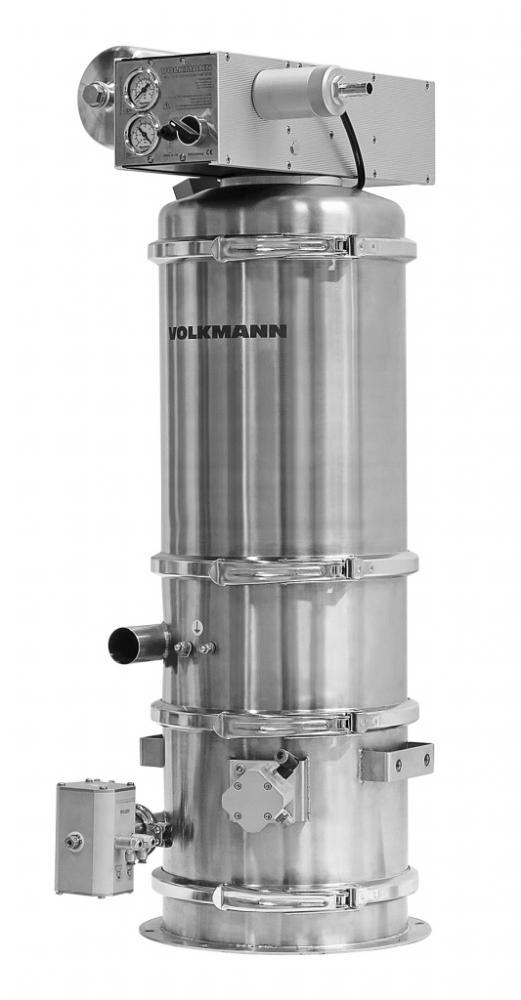 Gentle Pneumatic Vacuum Conveyors Powder Bulk Solids