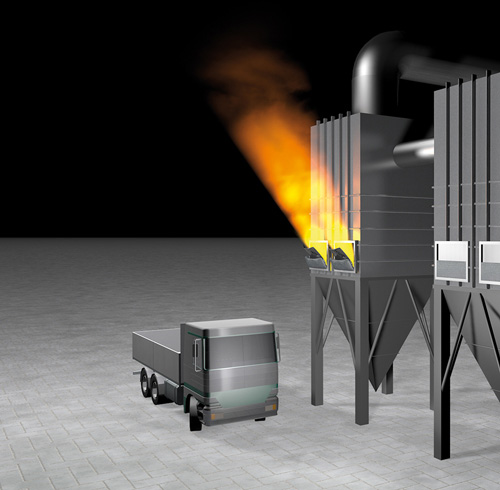 Targo Vent Directed Combustible Dust Explosion Pressure