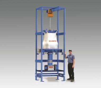 Delumper Bulk Bag Unloader Powder Bulk Solids