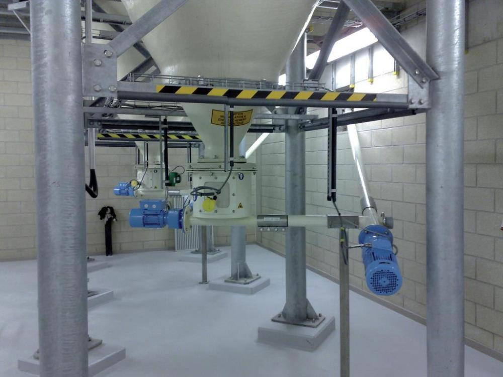 Dry Chemical Feed Systems Powder Bulk Solids