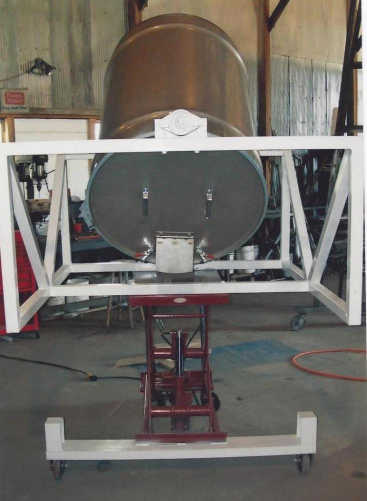 Customized Agricultural Batch Feed Mixers Powder Bulk Solids
