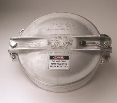 Dry Bulk Trailer Manhole Cover Powder Bulk Solids