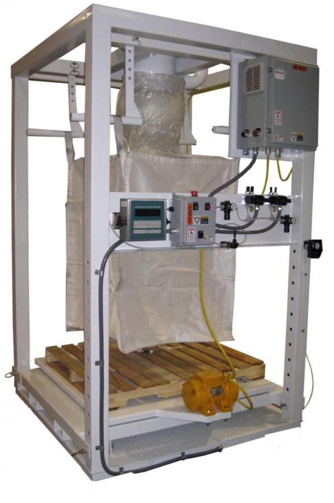 Bulk Bag Filling Station Powder Bulk Solids