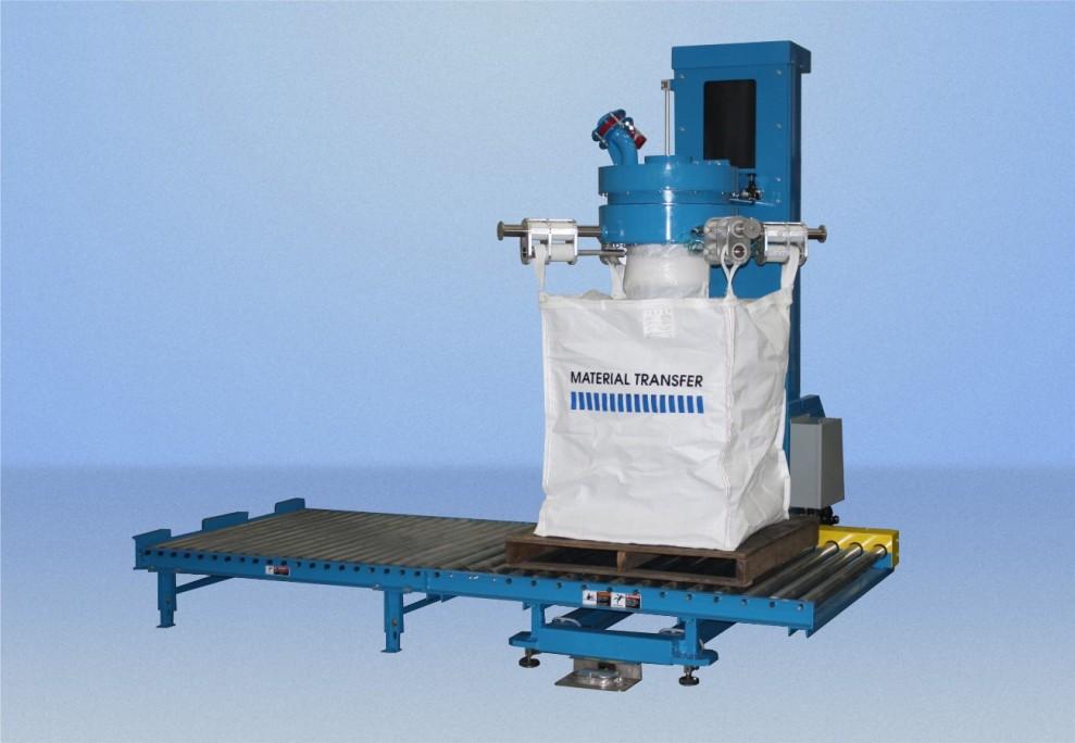 Bulk Bag Filler With Scale System Powder Bulk Solids