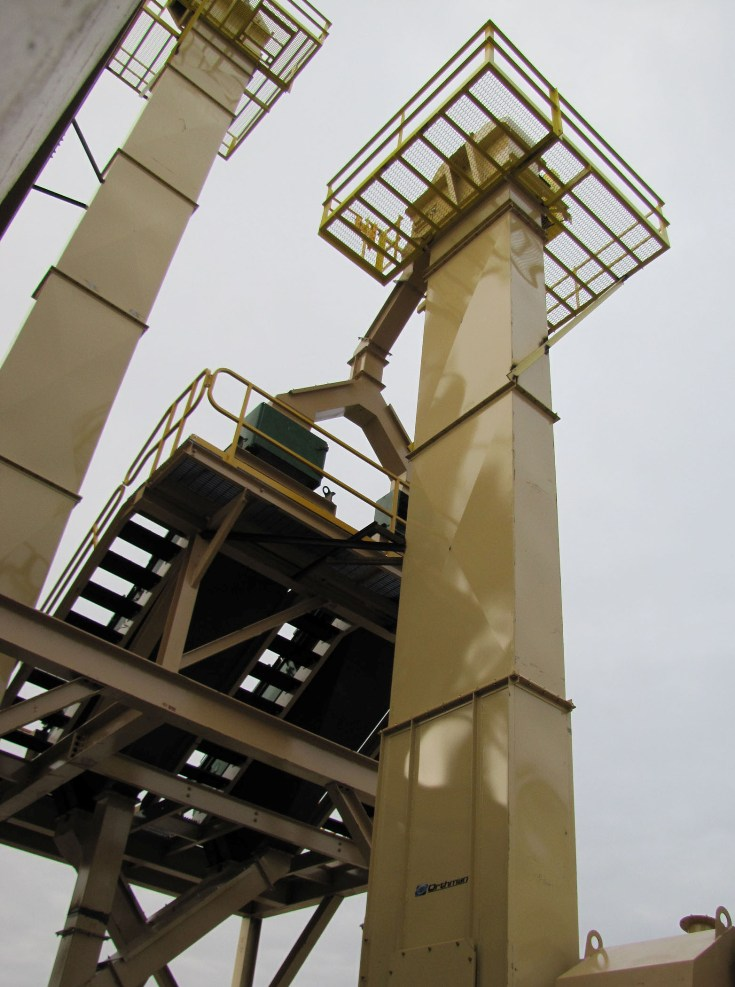 Centrifugal Amp Continuous Bucket Elevators Powder Bulk Solids