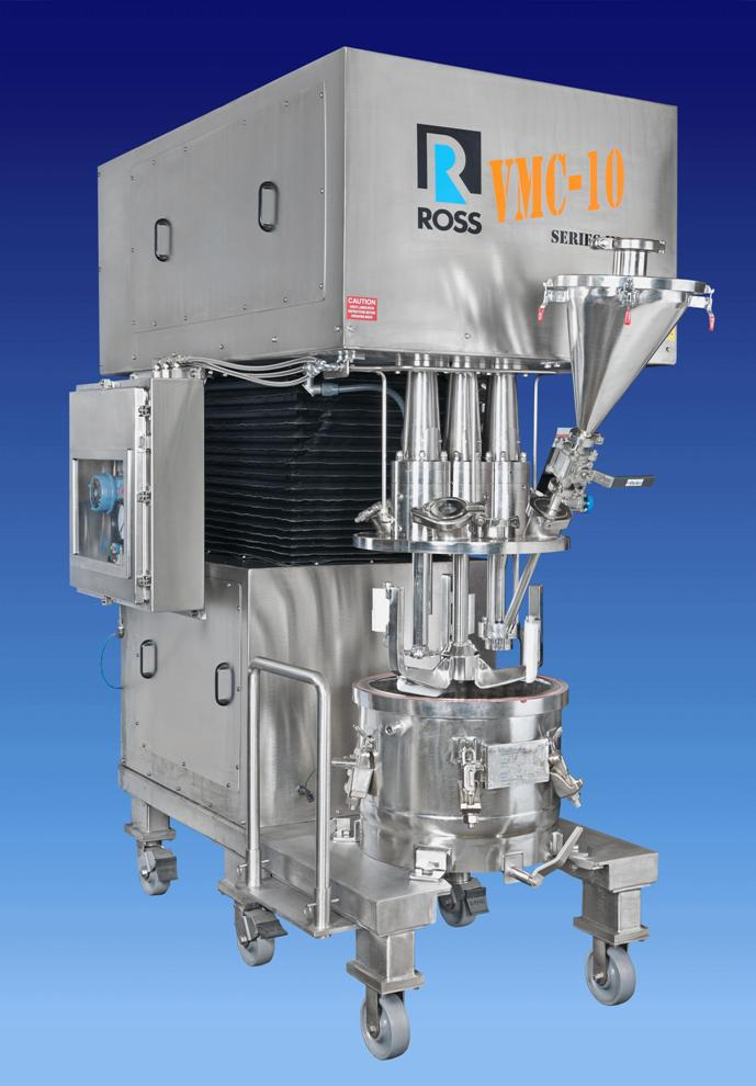 Improved Powder Injection In Batch Mixing Systems Powder