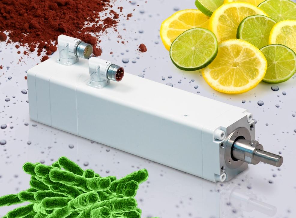 Tolomatic Ima Actuators Feature Food Grade White Epoxy
