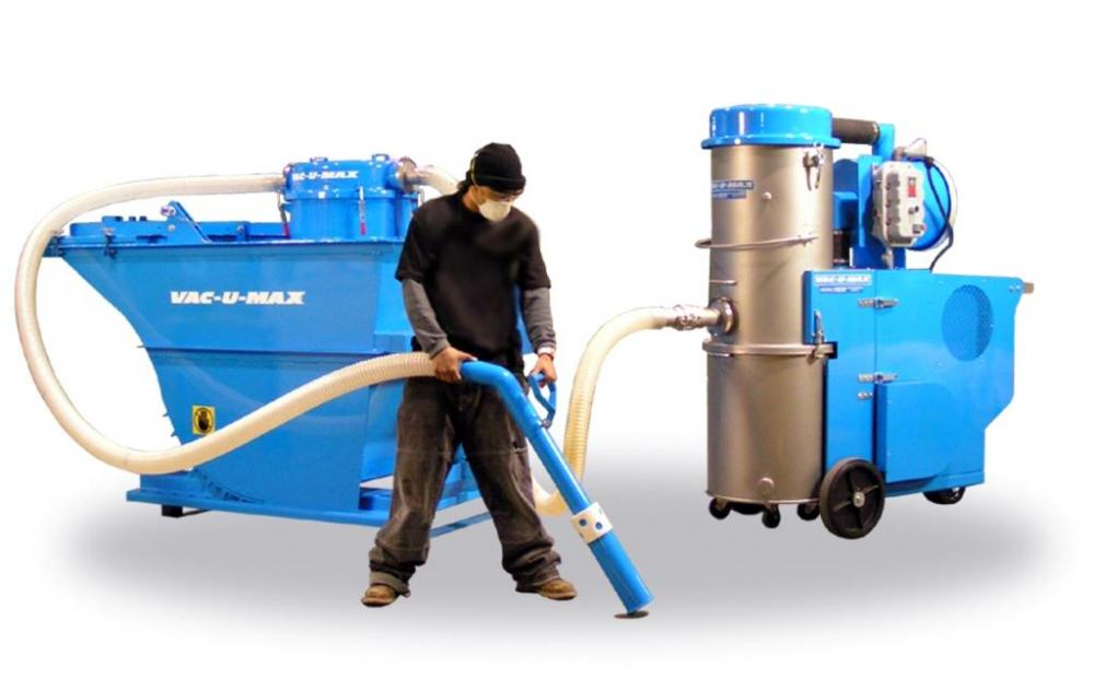 Industrial Vacuum Systems Manufacturers : Continuous duty industrial vacuum powder bulk solids