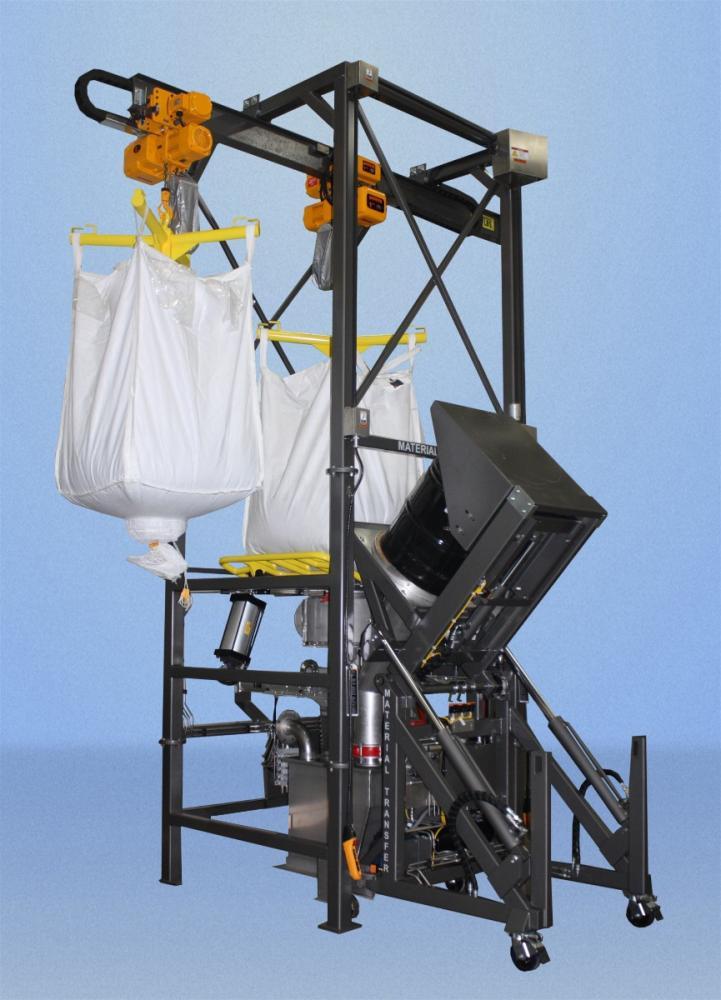 Material Master Dual Hoist Bulk Bag With Bag Break Station