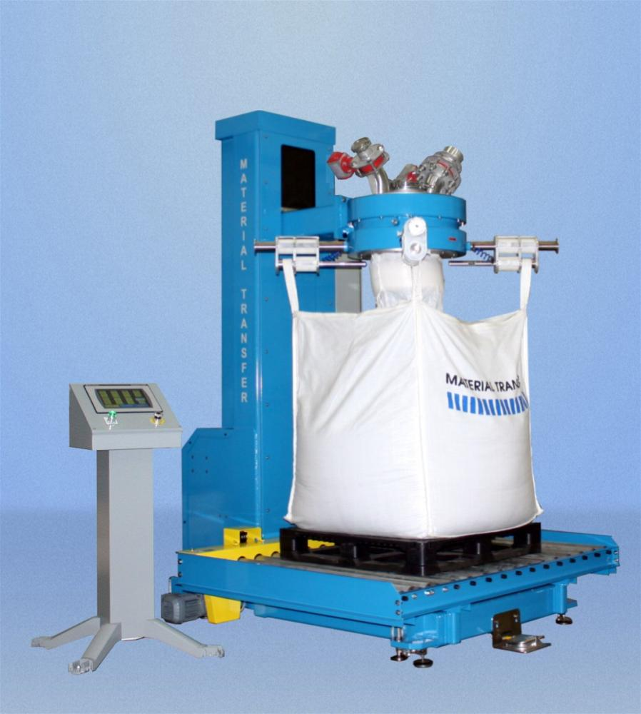 Bulk Bag Filler With Scale And Conveyor System Powder