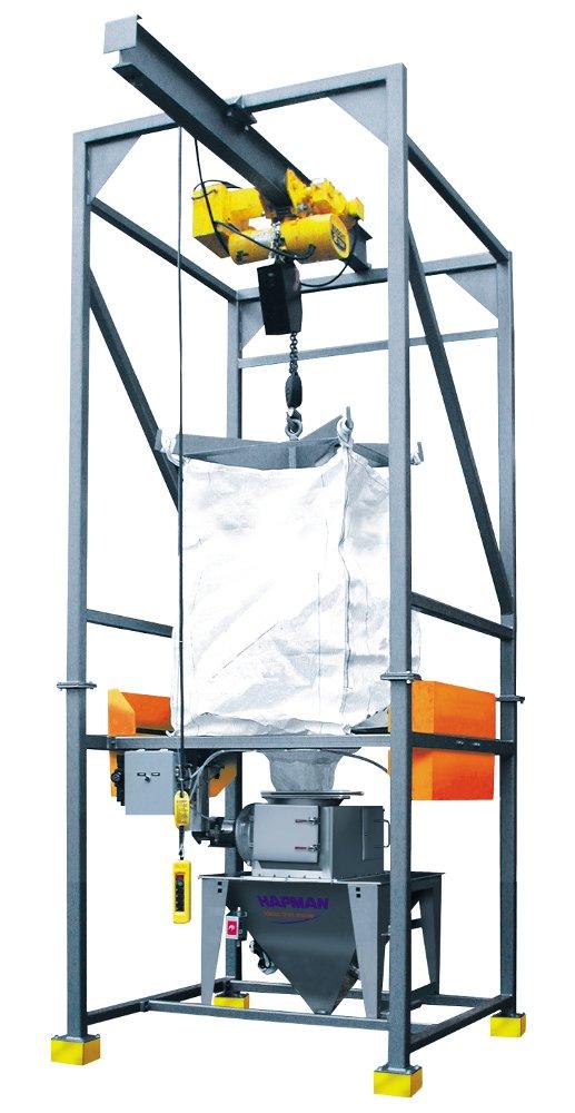 Loss In Weight Bulk Bag Unloader Powder Bulk Solids