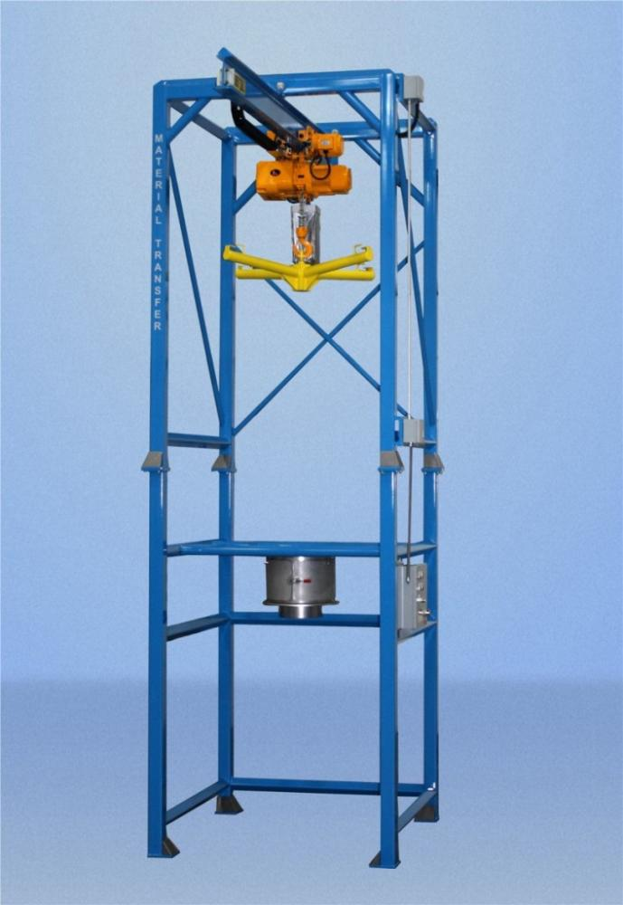 Material Master Bulk Bag Discharging System Powder Bulk