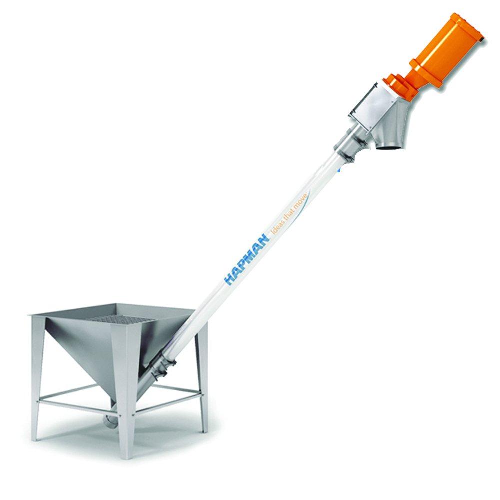 Helix Flexible Screw Conveyor Powder Bulk Solids