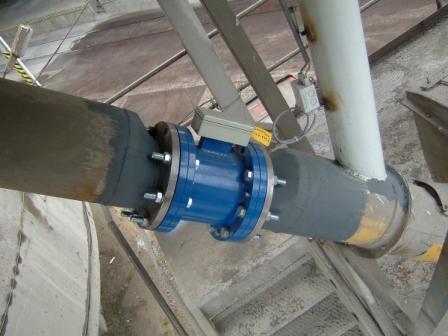 Maxxflow Flow Meter Powder Bulk Solids
