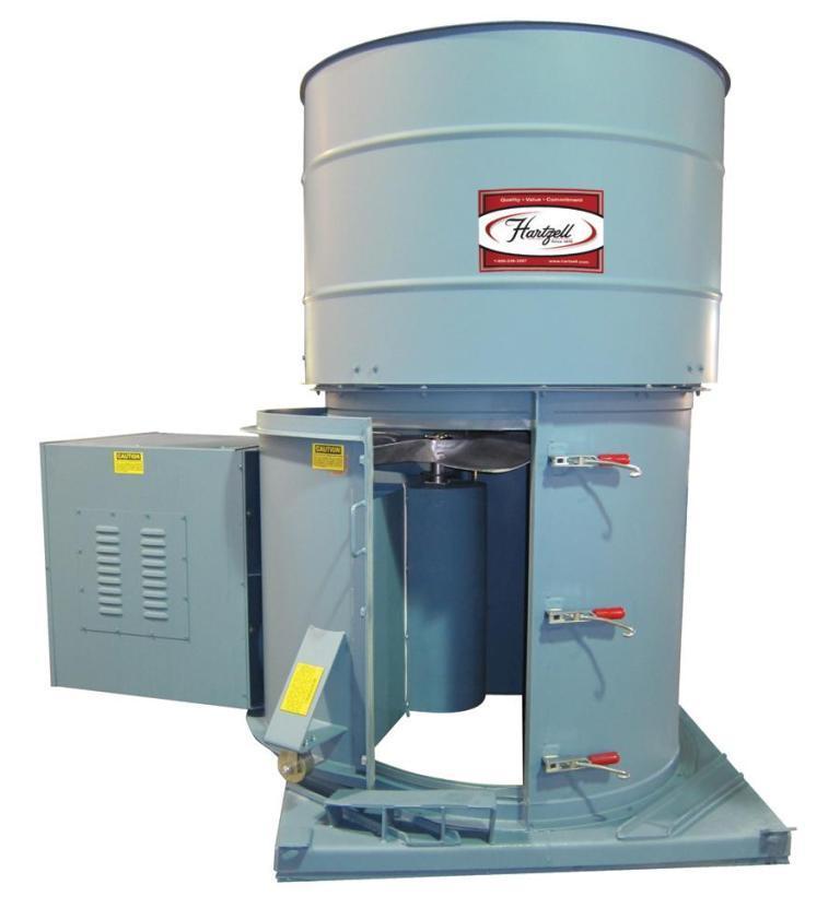 Power Roof Ventilators : Power roof ventilators powder bulk solids