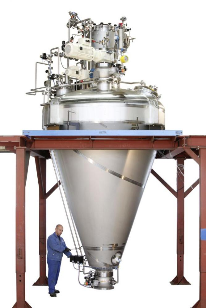 Cone Screw Dryer Powder Bulk Solids