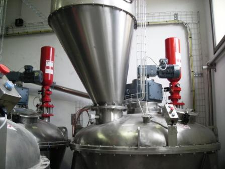 Chemical Suppression System Powder Bulk Solids