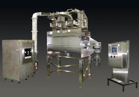 Microwave Drying System Powder Bulk Solids