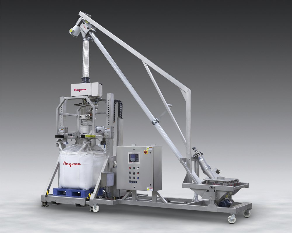 Bulk Bag Filling System With Metal Detection Powder Bulk
