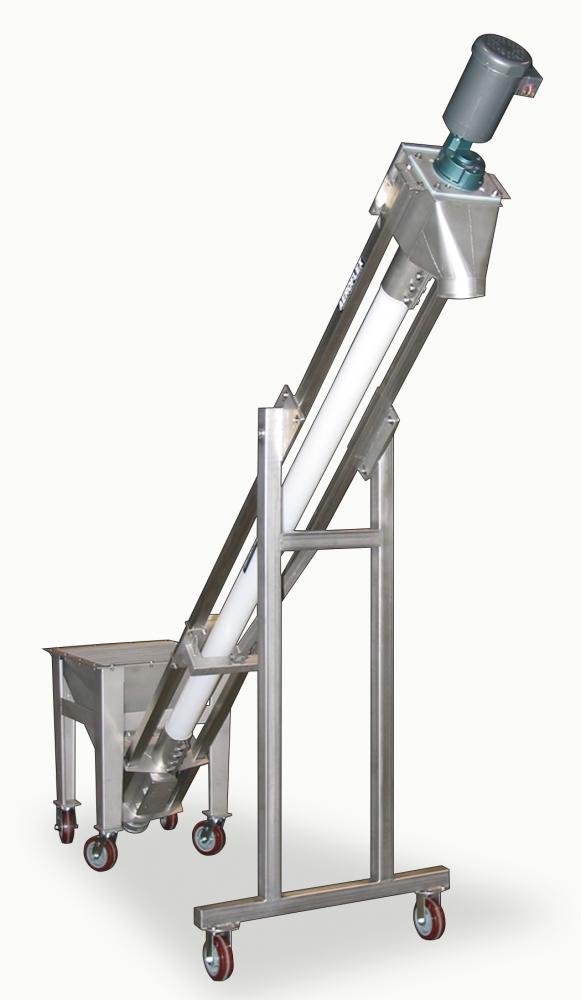 Aero Flex Flexible Screw Conveyor Powder Bulk Solids