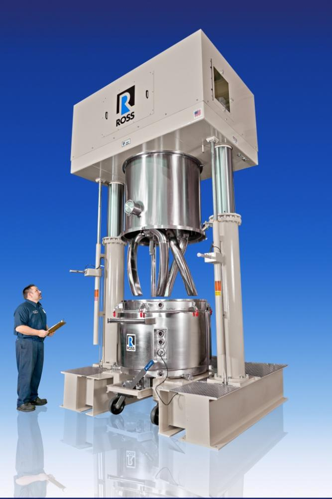 Double Planetary Mixer Powder Bulk Solids