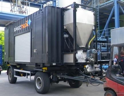 Dust-Free Container Loading System | Powder/Bulk Solids