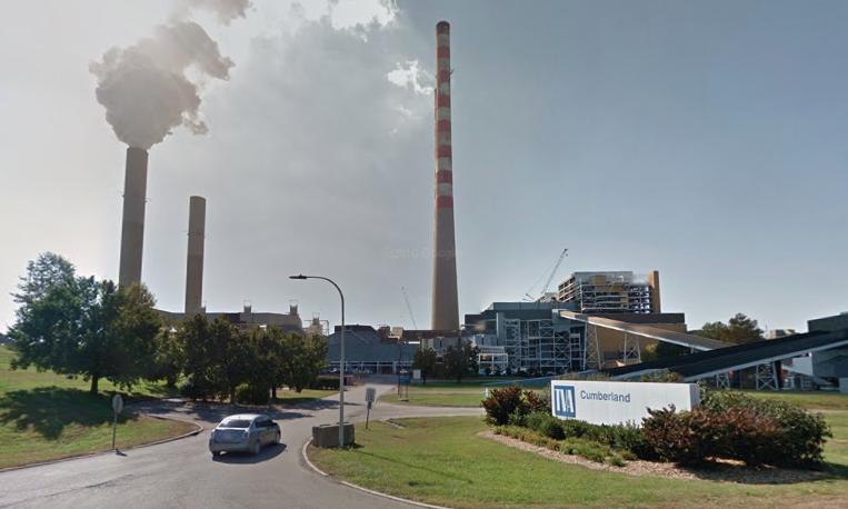 Tva Power Plant Coal Storage Silo Collapses Powder Bulk