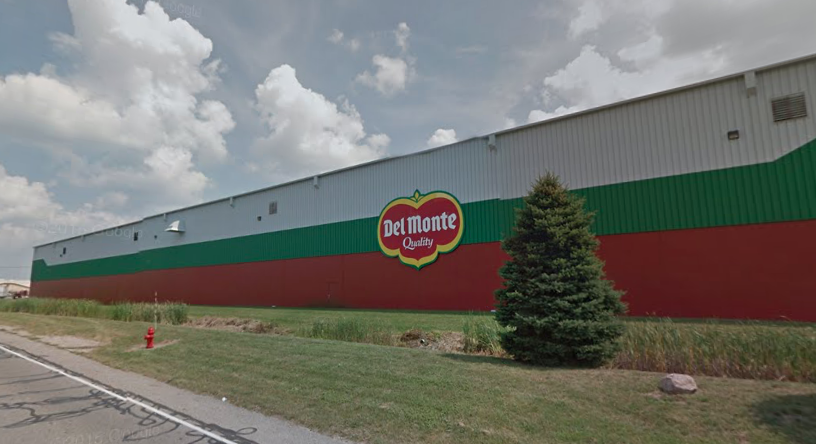 the del monte foods plant in plymouth in image courtesy of google maps