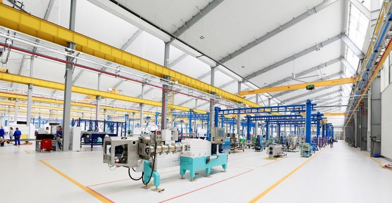 Bühler Changzhou production plant interior view