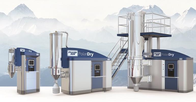 Fluid Air's PolarDry technology utilizes new electrostatic spray drying.
