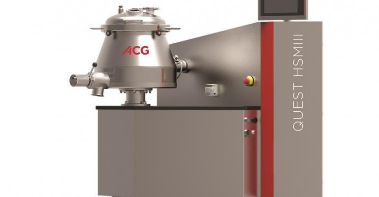 ACG Engineering's Quest HSM III high-shear mixer