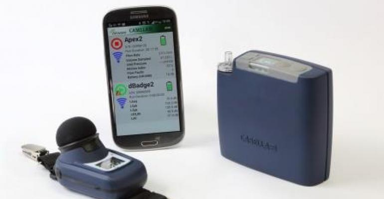 Casella's Airwave App provides remote access of noise dosimeters and personal air sampling pumps.