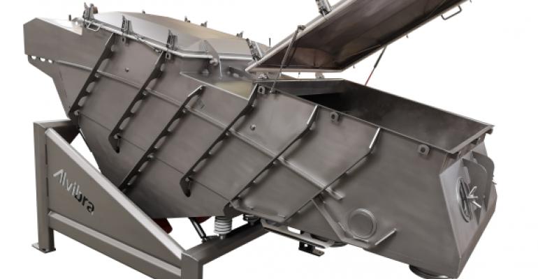 Alvibra sanitary stainless steel sifter