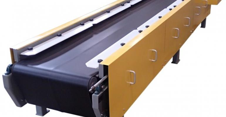 Best Process Solutions vibratory belt conveyor