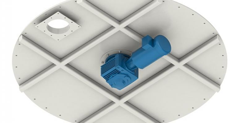 Kice Industries flat-bottom bin sweep