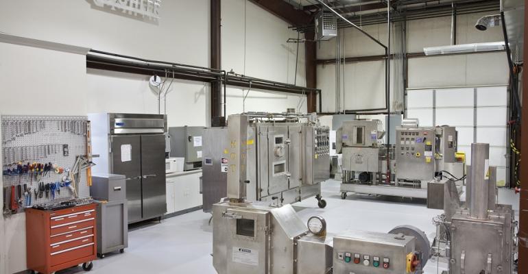Bühler Aeroglide's technical laboratory
