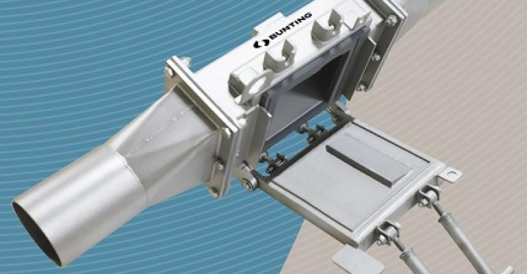 Bunting pneumatic in-line magnet