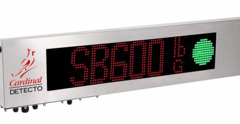 Cardinal Scale model SB600 remote display
