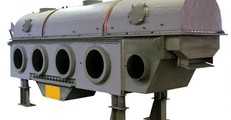 Carman high-temperature vibrating fluid bed dryer
