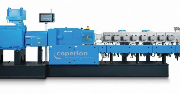 Coperion ZSK 58 Mc18 twin-screw extruder