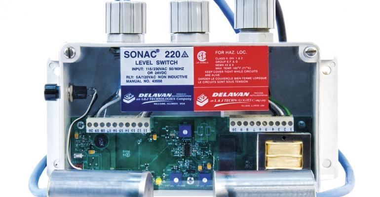 L&J Technologies' Delavan Sonac 220 level switch