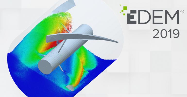 EDEM mixer simulation