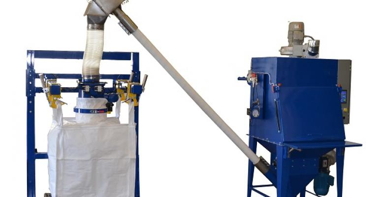 Erie Technical Systems dust-free bag break station