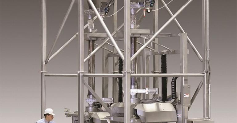 Flexicon's new sanitary bulk bag filling system