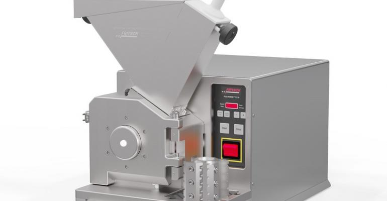 The universal cutting mill Pulverisette 19 can be optimized with the new rotor with notched edges.